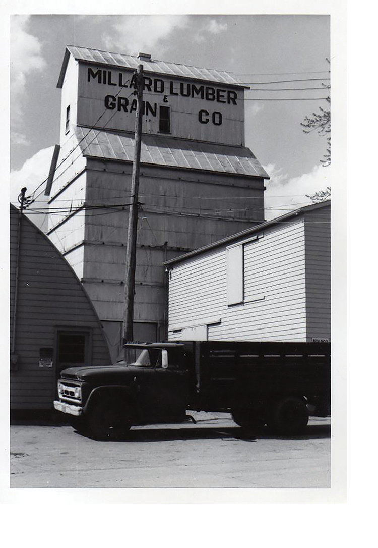 The First Millard Lumber Location