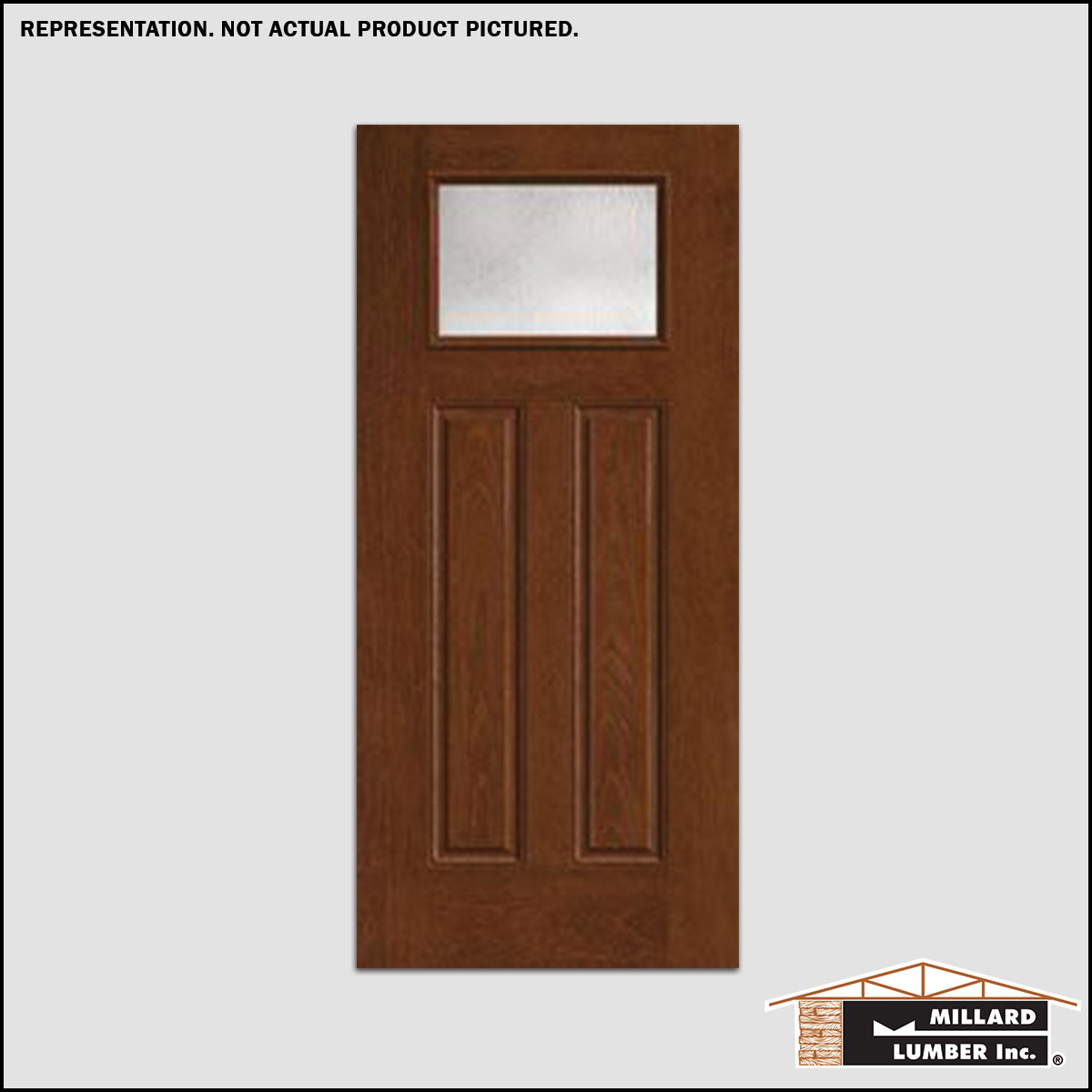 Clearance products more than lumber millard lumber for Single glass exterior door