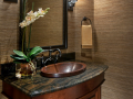 Wood Sink Detail
