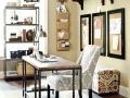 Black & Tan Home Office