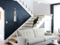 Navy Accent Wall