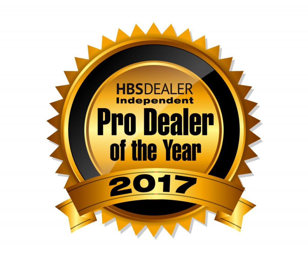 2017 National Independent Pro Dealer of the Year